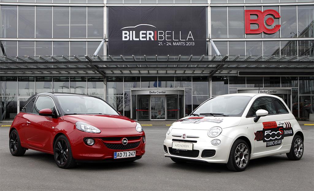 Små biler med livsstil, så det batter: Fiat 500 er veletableret i bilsalgets Top 20, men nu får ...
